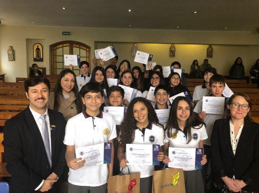 Inglés rinde prueba con Primer Spelling Bee interno