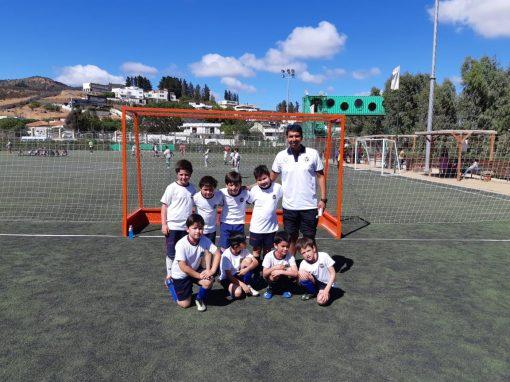 Alumnos de 1º y 2º Básico destacan en Festival de Fútbol Altomonte