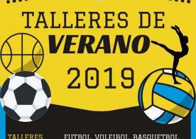 Flyer talleres verano 2019