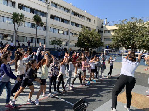 SD adhiriendo al Día Mundial de la Actividad Física