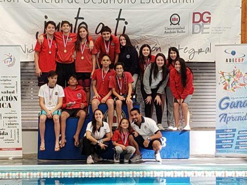 Selección de Natación SD destaca en Torneo Inaugural Adecop 2019