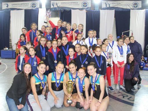 Brillante participación de Selección de Gimnasia Artística en Copa Saint Dominic