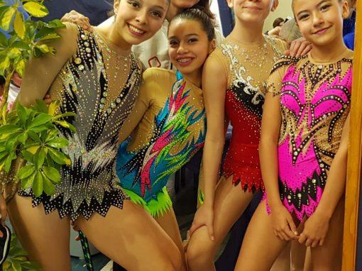 Copa Gimnasia Rítmica Saint Dominic congrega al talento regional