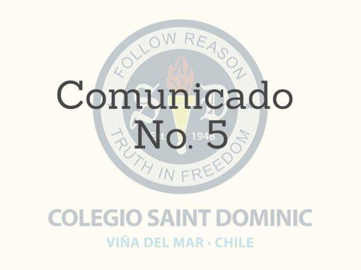 Comunicado Nº 5