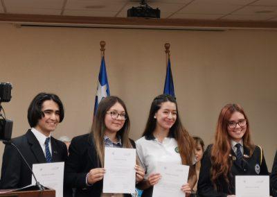 Alumnos destacan en Concurso de Ensayo 2019 de la Academia Parlamentaria