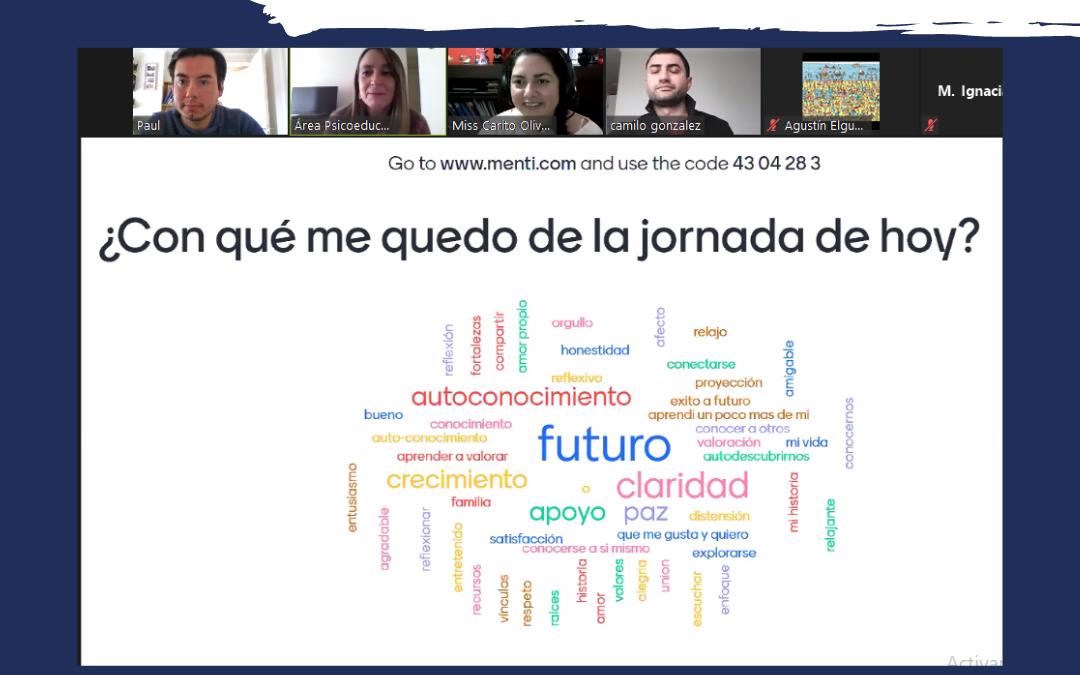 """Jornada Virtual Segundos Medios: """"Conociéndome puedo tomar mejores decisiones"""""""