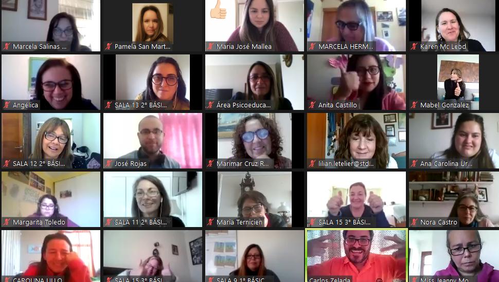 CAA y un gran Día del Profesor Virtual