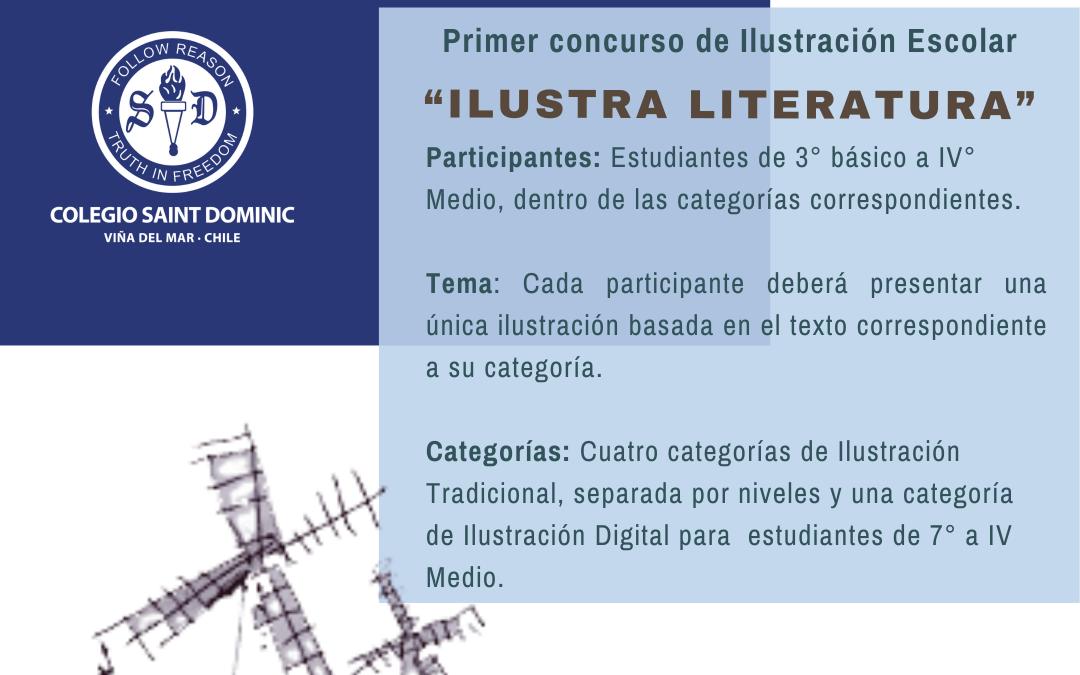 Bases Concurso de Ilustración Semana de la Letras